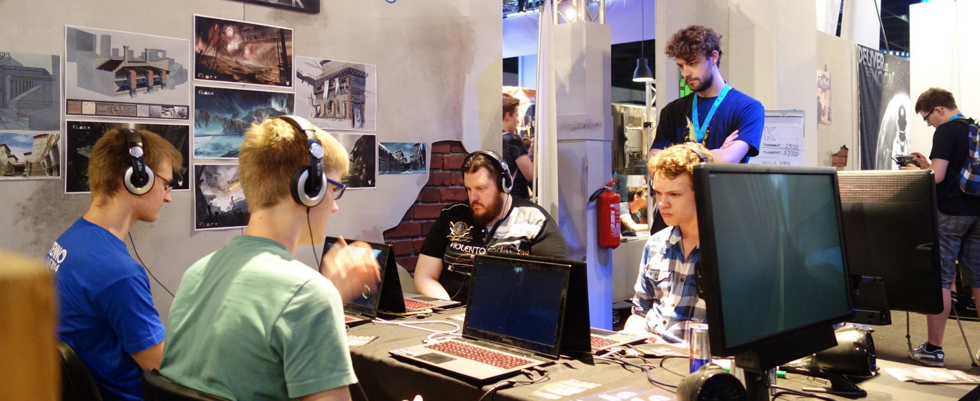 Indie Arena Booth @ gamescom