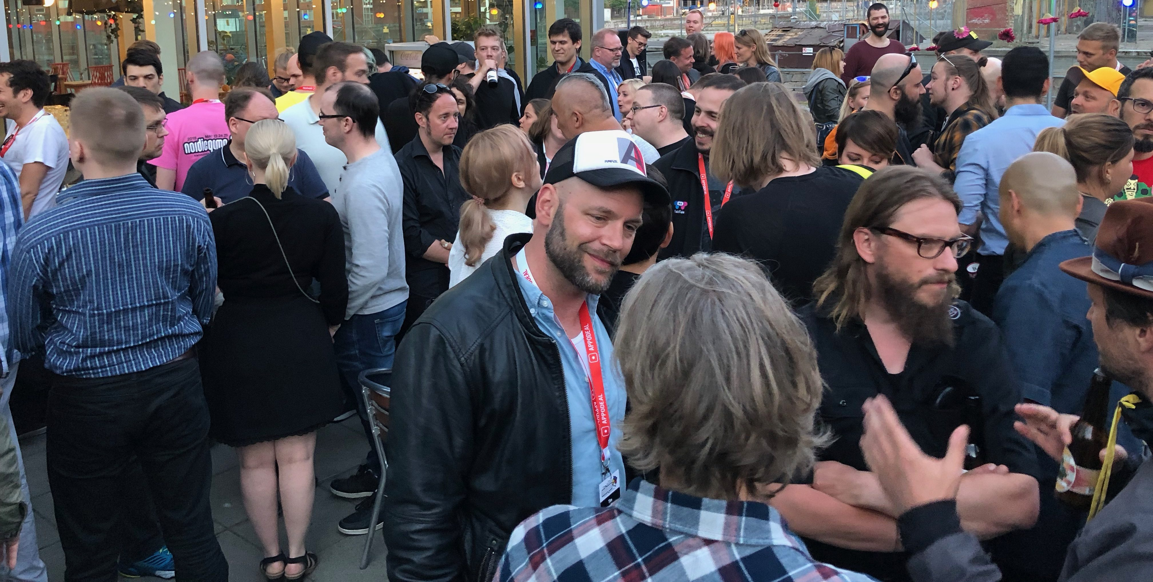 Games Germany reception @ Malmö 2018