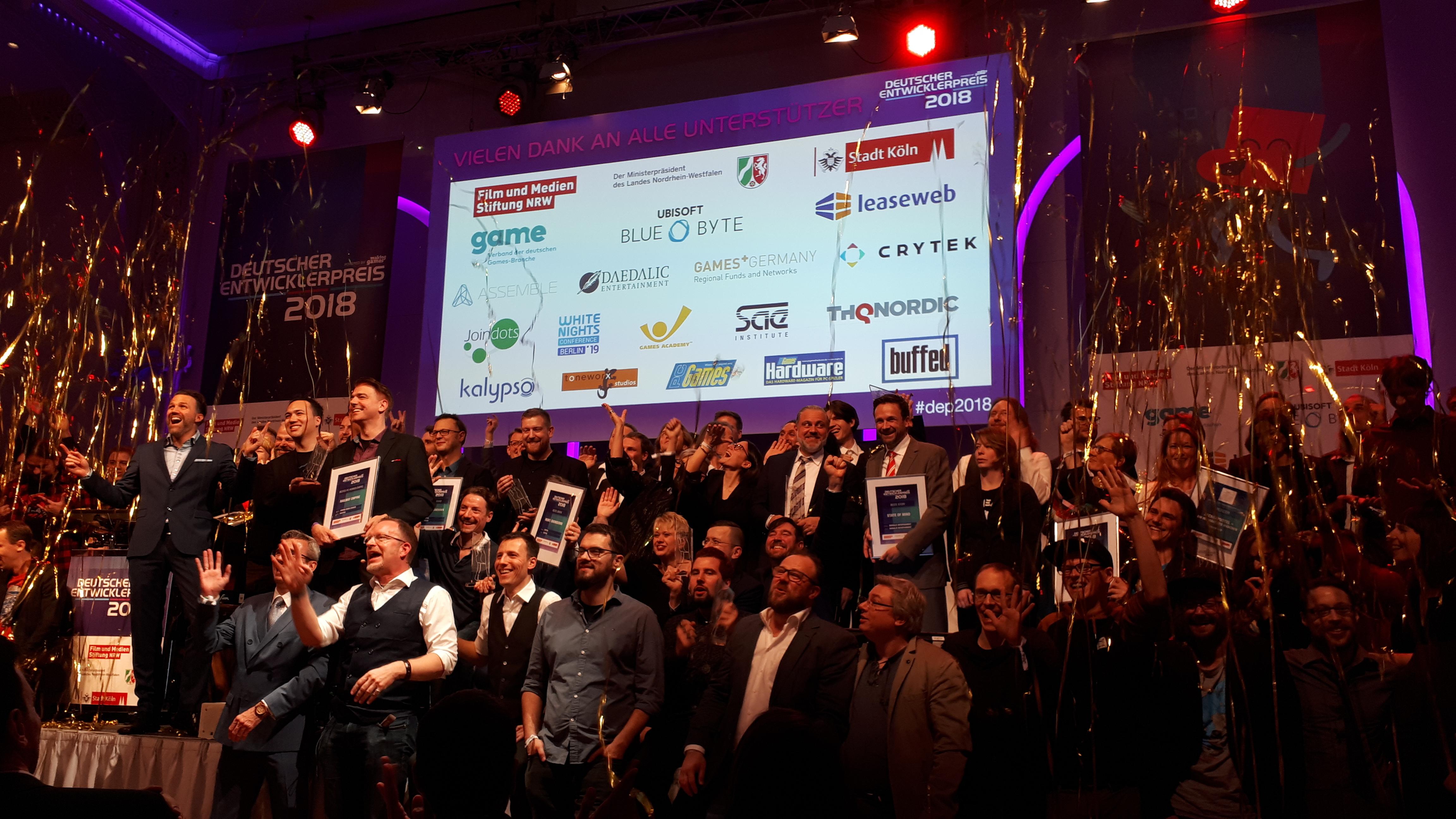 Deutscher Entwicklerpreis 2018