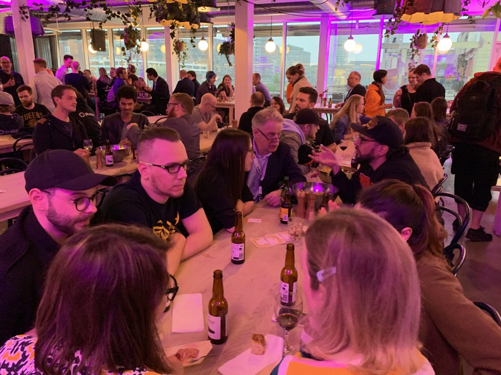 Games Germany reception @ Malmö 2019