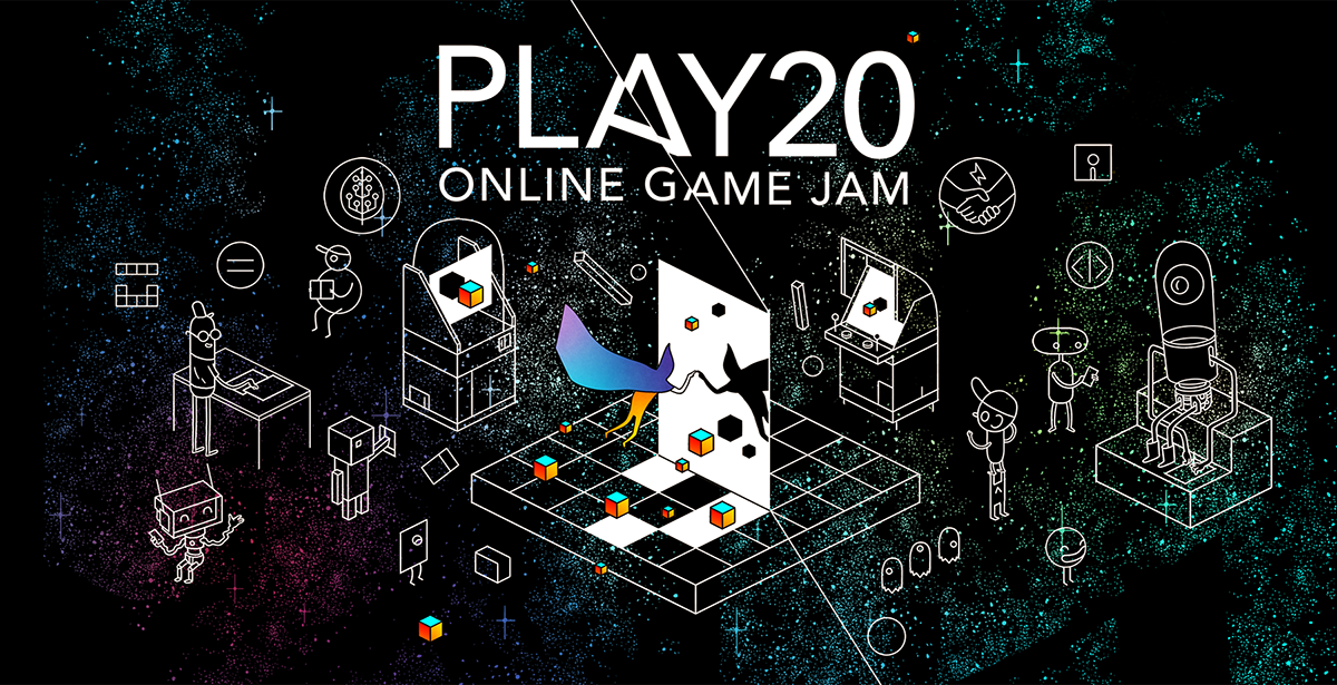 Register now for the Online Game Jam at the PLAY20 Festival
